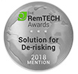RemTech Awards 2018: <br /> De-Risking Honourable Mention