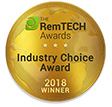 RemTech Awards 2018: <br /> Industry Choice Winner
